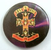 Guns N'Roses - 'Appetite for Destruction' Vintage 32mm Badge